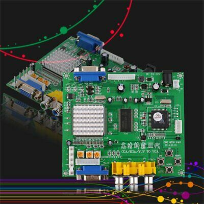 Green Arcade Game RGB/CGA/EGA/YUV to VGA HD Video Converter Board GBS8200 KD