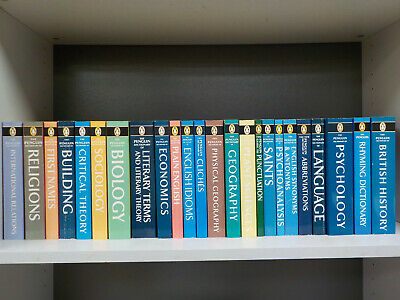 Penguin Dictionary (c.2000) - 24 Books Collection! (ID:5597)