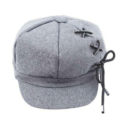 Fashion Lady Girls Newsboys Hat Women Beret Winter Octagonal Caps Hats LA