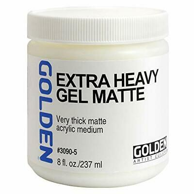 Golden Acryl Med 8 oz X-Heavy Gel Matte