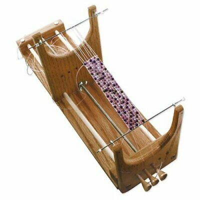 1 X Ricks Beading Loom Kit - The Only Loom with Two p Threads to Deal with Wh...