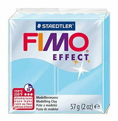 Fimo Soft Polymer Clay 2 Ounces-Aqua
