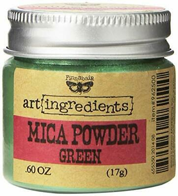 Prima Marketing Finnabair Art Ingredients Mica Powder, 06 oz, Green