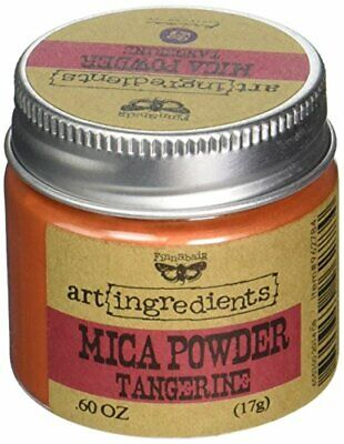 Prima Marketing Finnabair Art Ingredients Mica Powder, 06 oz, Tangerine