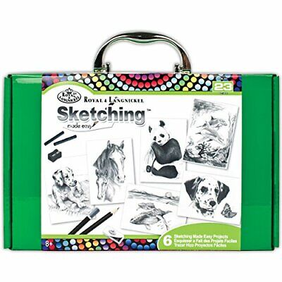 ROYAL BRUSH RTN-203 Sketching Made Easy Kit
