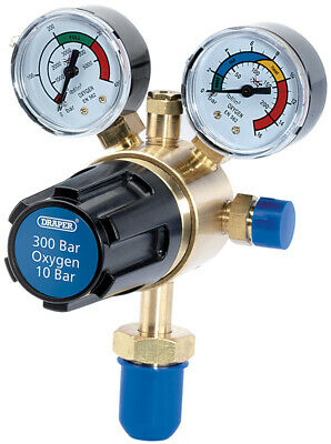 Genuine DRAPER 300 Bar Oxygen Regulator 35010