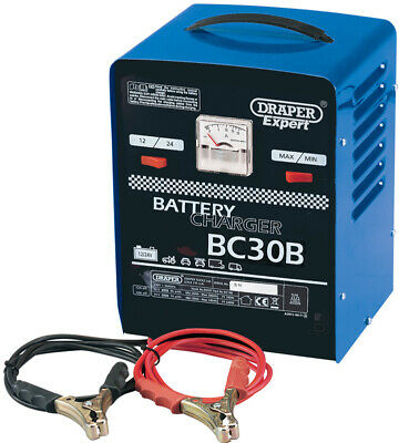 Genuine DRAPER Expert 12V/24V 20A Battery Charger 5583