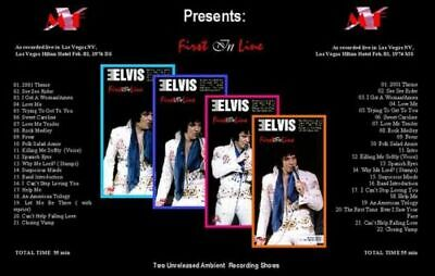 Elvis Presley 2 CD Set Longbox - First In Line - Limited Edition
