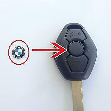 Genuine BMW Key Fob Remote Badge Logo Emblem Sticker 11mm