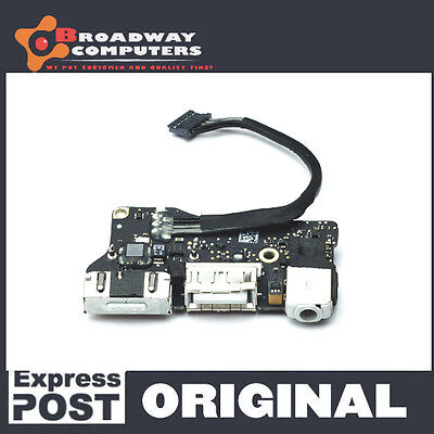 """DC Power Jack Board for Macbook Air 13"""" A1466, 2013 2014 2015 2017"""