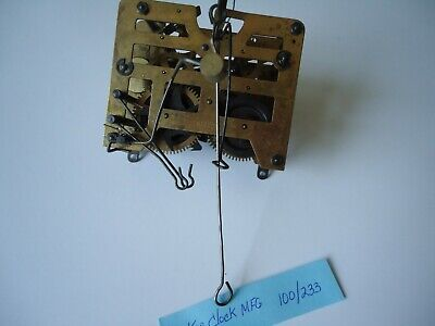Vintage Cuckoo Clock Movement With Bird for parts or repair 100/233