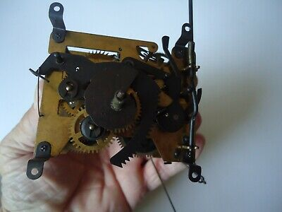 Vintage Cuckoo Clock Movement for parts or repair 100/233