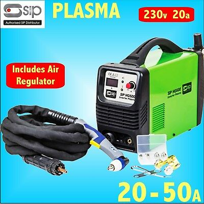 SIP 05787 HG400 230v 20A INVERTER PLASMA CUTTER 50A - Up to 15mm cut