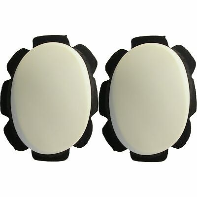 Knee Sliders White with suede & velcro backing (Pair)