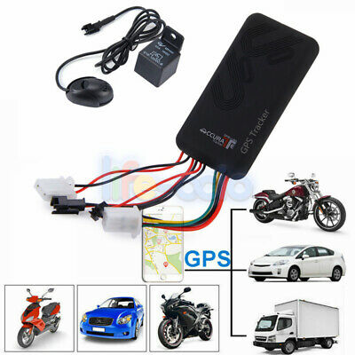 Mini Realtime Car GPS GSM Tracker Locator Vehicle/Motorcycle Tracking Device SMS