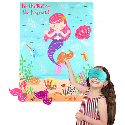 17CM MULTI COLOURED PINATA BLINDFOLD MASK Childrens Party Game Accessory 6700