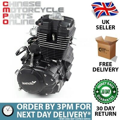125cc Motorcycle Engine 157FMI with Lexmoto Logo for FT125-17C (ENG063)