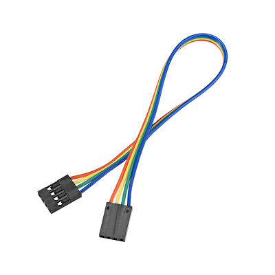 Jumper Wires 4-Pin Female to Female 20cm Ribbon Cables for Breadboard Arduino