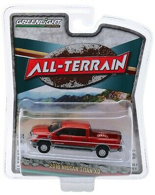1:64 GreenLight *ALL-TERRAIN R8* Copper 2018 Nissan Titan XD Pickup Truck NIP