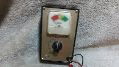Vintage RCA Battery Tester 1P1182B