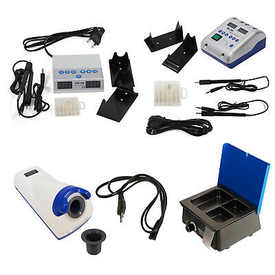 Dental Lab Electric Wax Carving Pencil Waxer Heater Infrared Melting Pot /3 Well