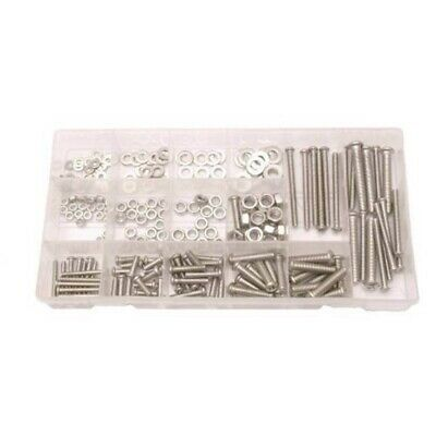SCREW BOLTS WASHERS FASTENERS FIXINGS M3 Toolzone 246 pc Stainless Steel Nuts and bolts M6