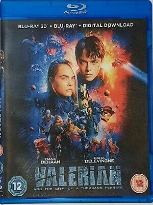 Valerian and the City of a Thousand Planets 3D Blu-ray Region Free Ships Now