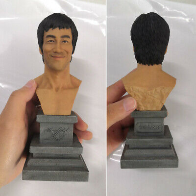 CHINA.X-H 1/4 Bruce Lee Smile Bust Figurine Model Limited Statue Pre-order