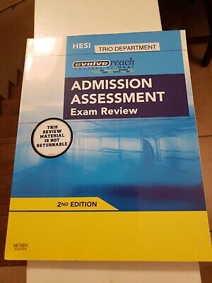 Evolve Reach Admission Assessment Exam Review , 2nd Edition