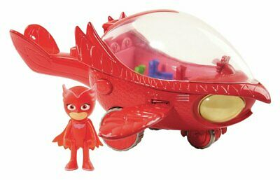 PJ Masks 3 inch Deluxe Owlette Vehicle With Figure