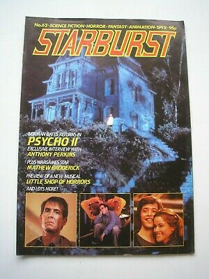 STARBURST magazine #63 October 1983