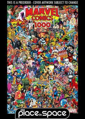 (Wk35) Marvel Comics #1000O - Garcin Collage Variant - Preorder 28Th Aug