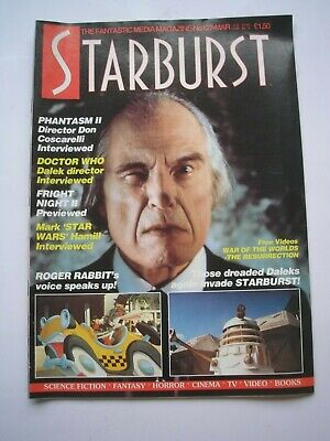 STARBURST magazine #127 March 1989