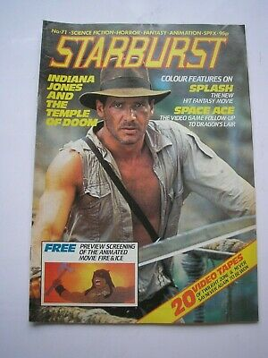 STARBURST magazine #71 June 1984