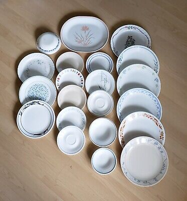 Corelle Replacements, Some Coffee Cups Corning/Pyrex Excellent Condition