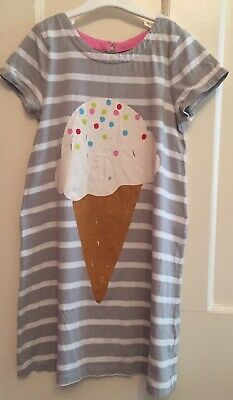Mini Boden Cotton Jersey Dress. Aged 9-10. Immaculate.