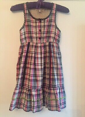Marks & Spencer Cotton Dress. Aged 8 Years. Immaculate.