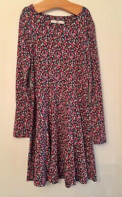 Marks & spencer Spotty Print Cotton Dress. Aged 8-9 Years. New No Tag.
