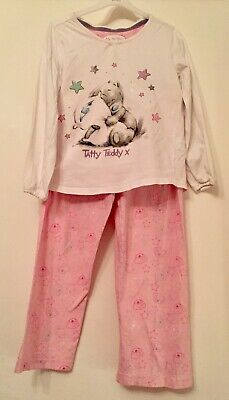Marks & Spencer Tatty Teddy Cotton Pyjamas. Aged 5-6 Years.