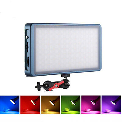 Falcon Eyes F7 12W RGB LED Pocket On Camera Light Special-Effects Mode Portable