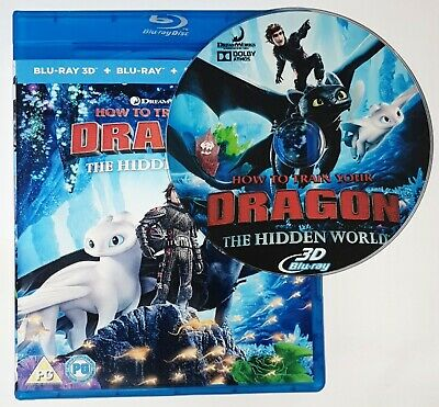 How to Train Your Dragon the Hidden World 3D Blu-ray Region Free Ships Now