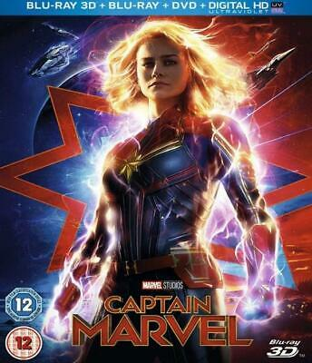 Captain Marvel + Avengers Infinity War 3D Blu-ray 2in1 Flash Sale Limited Stock