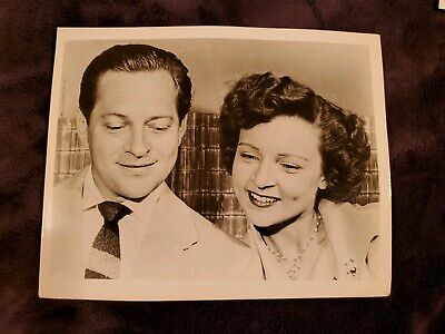 Betty White , Del Moore. VINTAGE 8x10 Photo 1953-1955