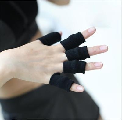 Finger Guard Support Stretchy Finger Protector Sleeve Arthritis Support New LA