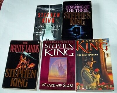 Stephen King: The Dark Tower, 5 volumes: 1 - 4 and 7; Trade paperbacks