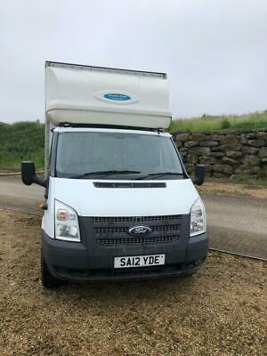 Transit Luton Van With Tail Lift 125 T350 Fwd No Vat