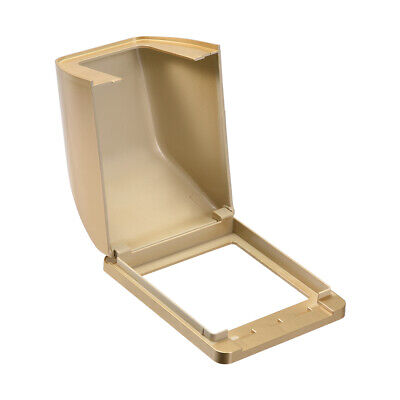Weatherproof Outlet Cover In-Use Receptacle Protector 98x125x75mm Golden