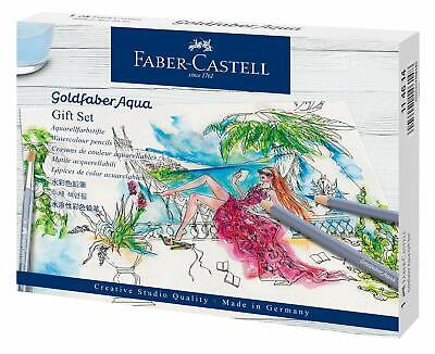 Faber-Castell Goldfaber Aqua Coloured Pencils Gift Set