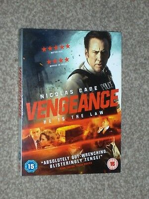 Vengeance DVD - Nicolas Cage - Region 2 UK