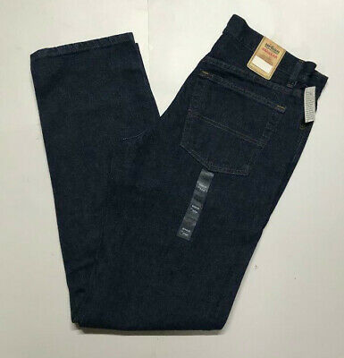 URBAN PIPELINE Jeans Regular Fit Blue Straight Leg 100% Cotton Rinse Dark Wash